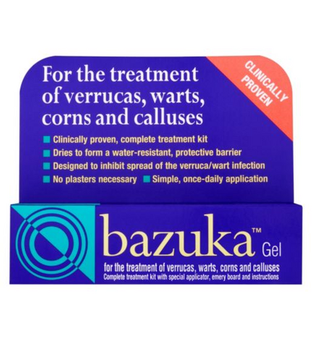 Bazuka Gel - 5g Footcare - Treatments Dendron- EasyMeds Healthcare LTD