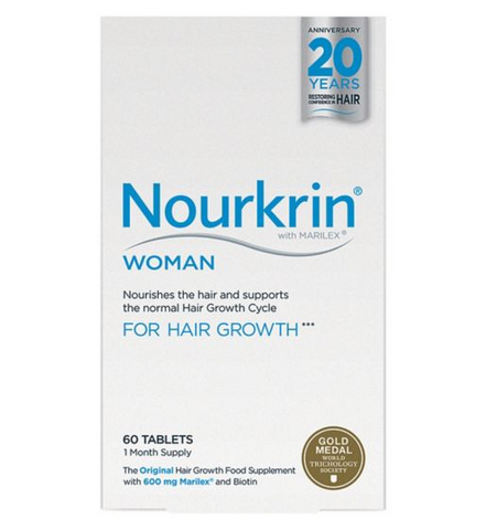 Nourkrin WOMAN 60 Tablets (1 Month Supply) Hair Loss - Supplements