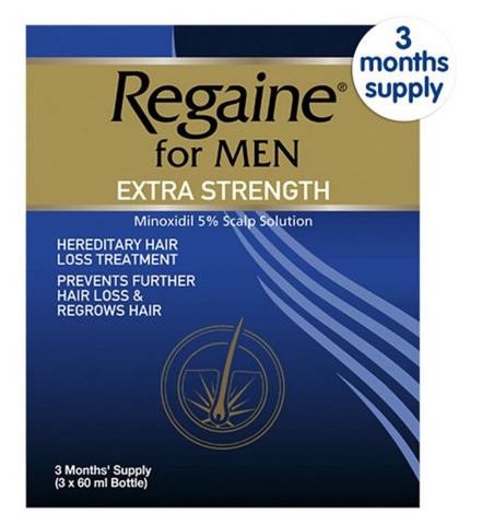 Regaine Regaine For Men Extra Str - 3 Months Supply (60ml x 3)