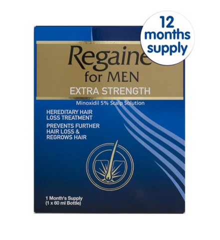 Regaine Regaine For Men Extra Str - 12 Months Supply (60ml x 12)