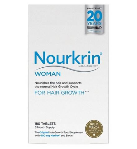 Nourkrin WOMAN 180s (3 month supply) Hair Loss - Supplements