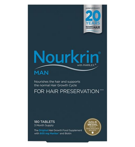 Nourkrin Man for hair preservation 180s Hair Loss - Supplements