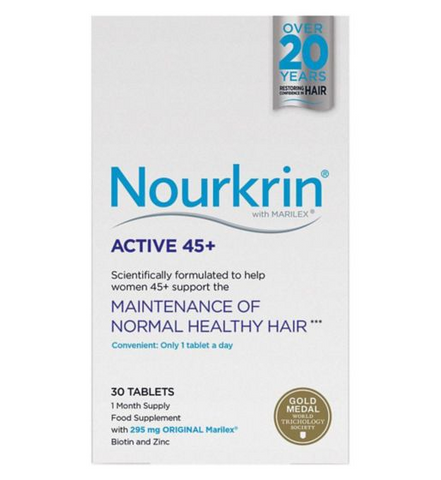 Nourkrin Active 45+ Tablets x 30 Hair Loss - Nourkrin