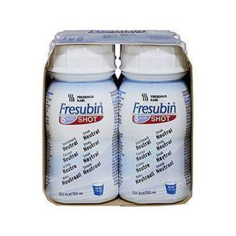Fresubin 5kCal Shot Neutral 4x120ml Nutritional Drinks