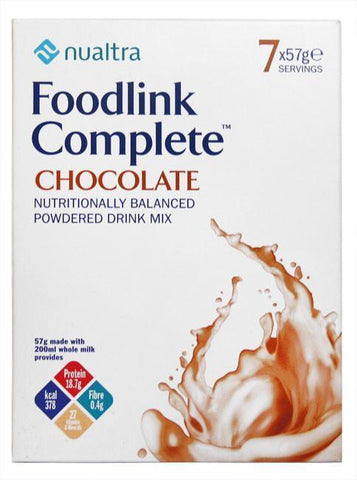 Fresenius Nualtra Foodlink Complete Powder Chocolate ( 7 x 57g)