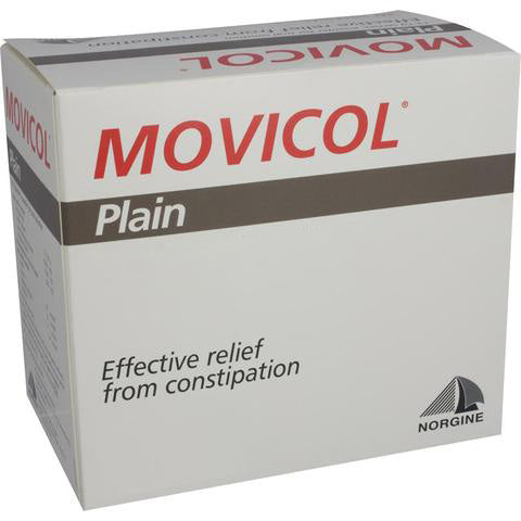 Movicol Plain Macrogol Powder Sachet 13.8g x 50