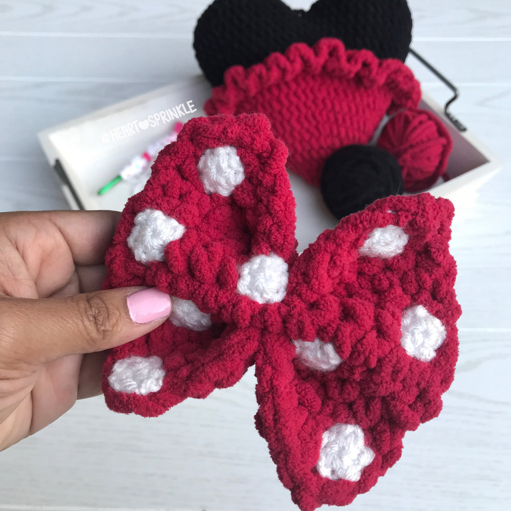Mickey & Minnie Mouse Inspired Heart Mod