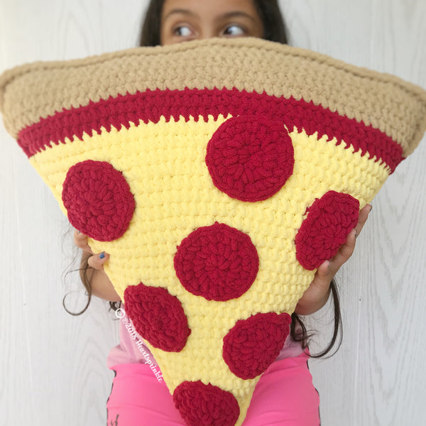 Pizza Pillow Pattern