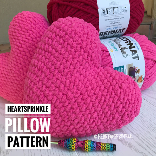 Heartsprinkle Heart Pillow Pattern