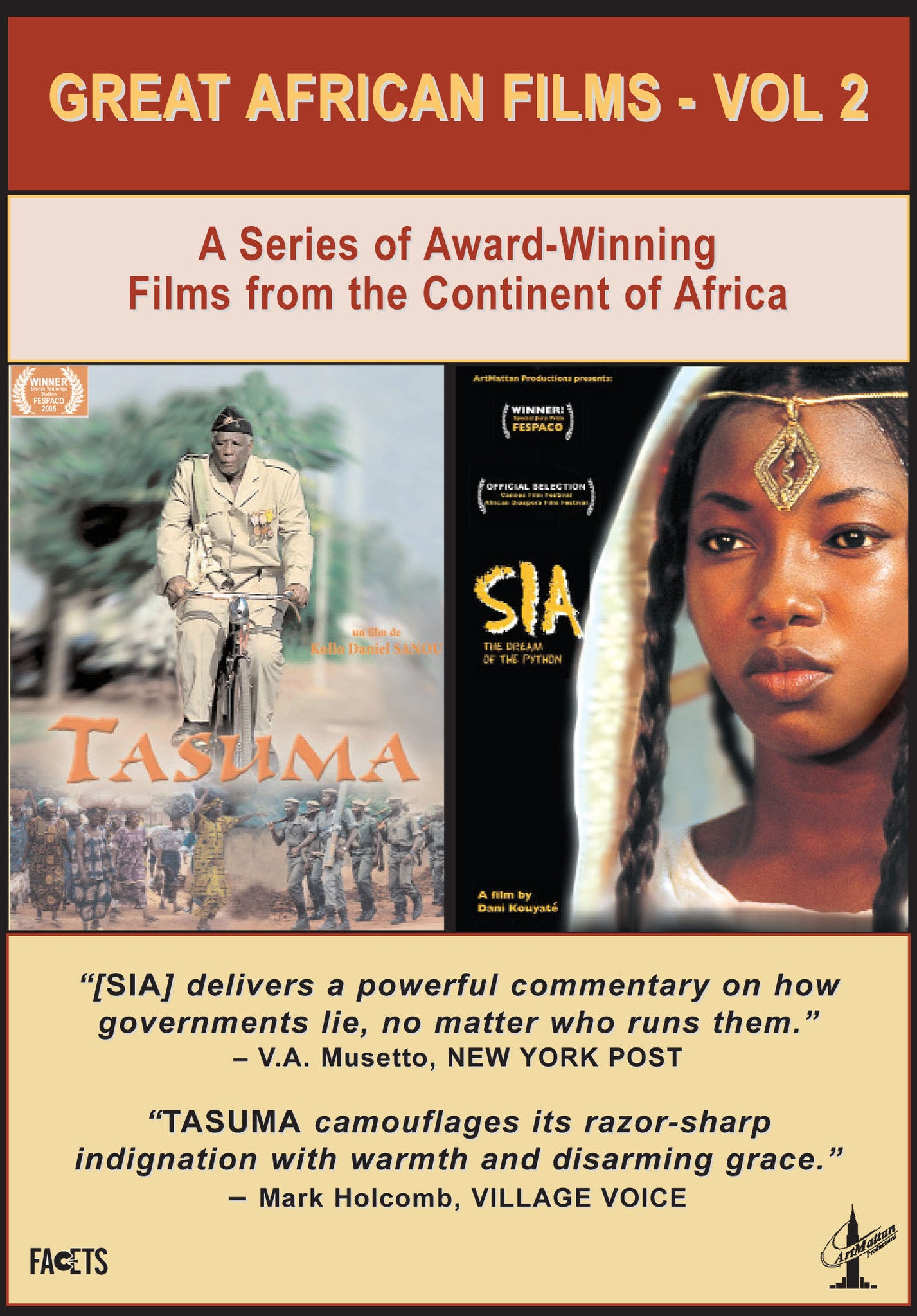 Great African Films - Vol. 2