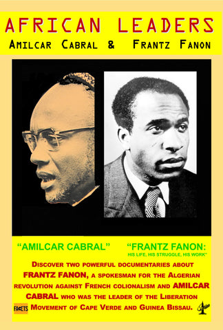 African Leaders: Frantz Fanon & Amilcar Cabral - 2 disc set