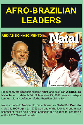 Afro-Brazilian Leaders - Abdias do Nascimento and Natal da Portela