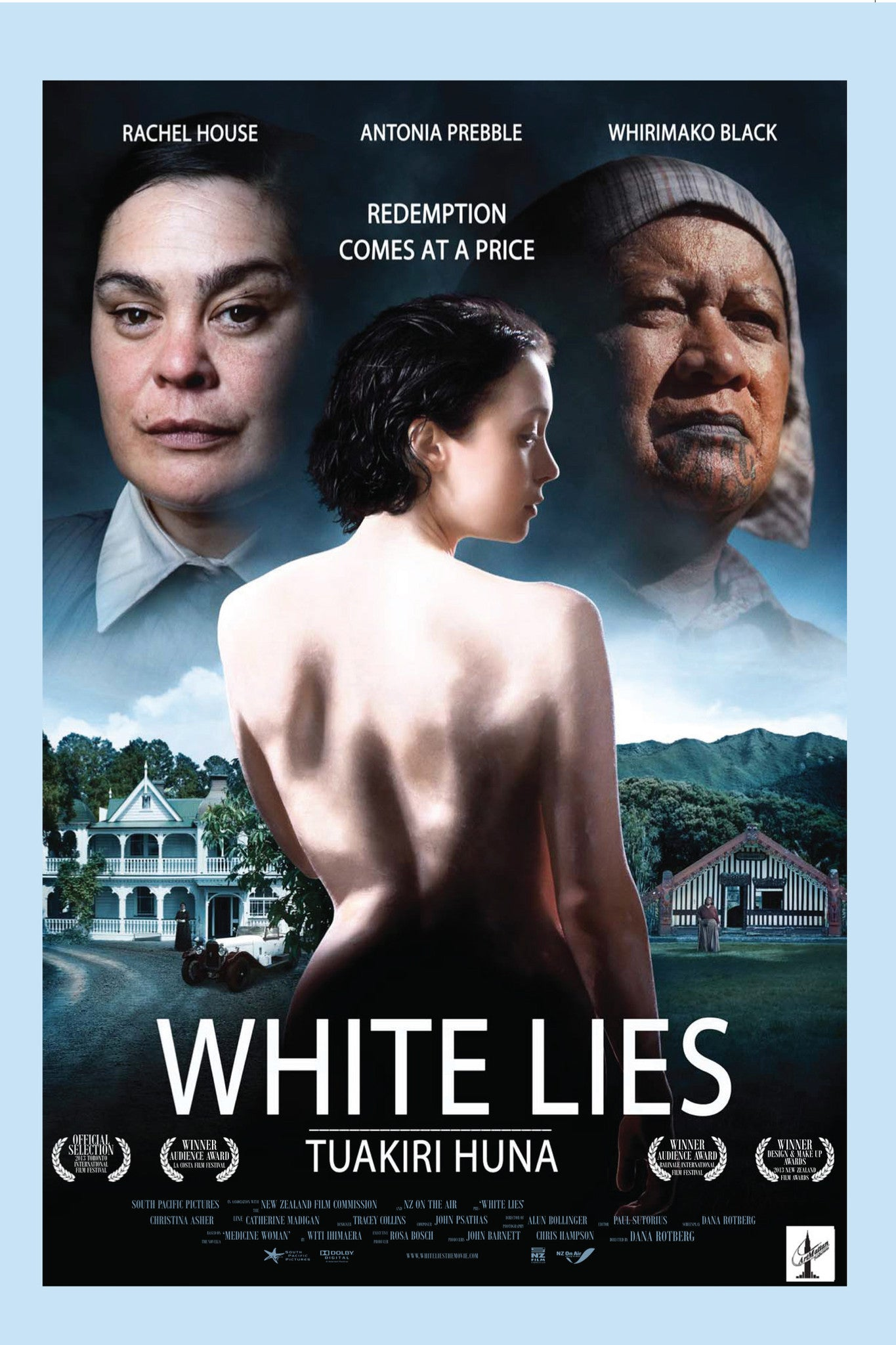 White Lies & White like the moon | Award Winning African Diaspora Films on DVD | New Zealand