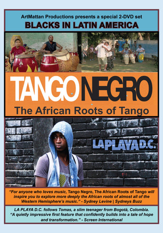 Blacks in Latin America - 2 disc set - Tango Negro: The African Roots of Tango & La Playa D.C.