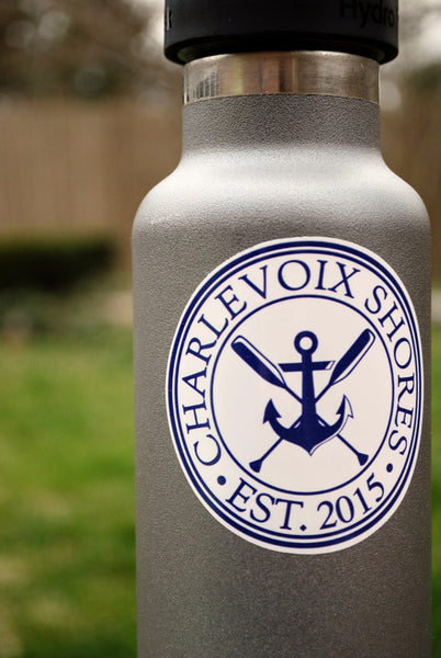 Charlevoix Shores Logo Sticker