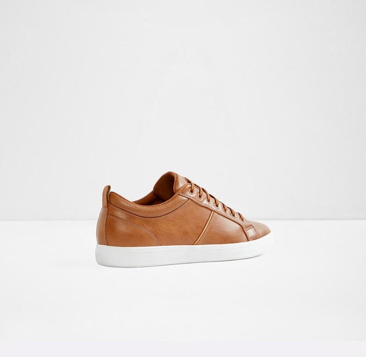 Mens Leather Casual Sneaker