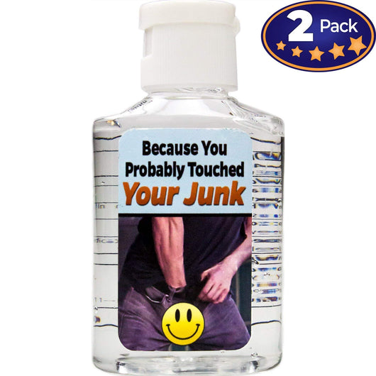 Because You Probably Touched Your Junk Hand Sanitizer 2 Pack