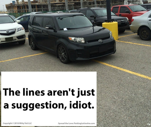 image relating to Bad Parking Cards Printable named Family members-Welcoming-Ish\