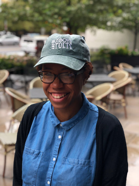 Busboys and Poets Vintage Green Cap *while supplies last!