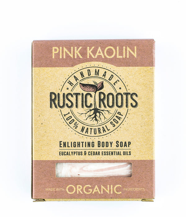 Pink Kaolin Soap