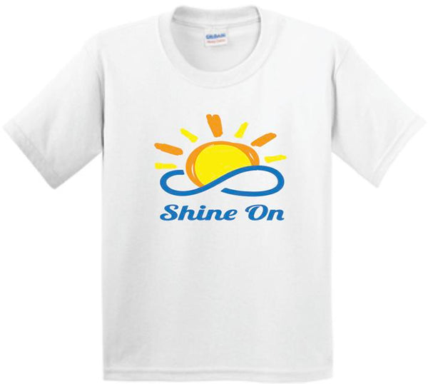Youth Shirt Sleeve T-Shirt Shine On 5000B