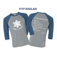 FITF Snow Day Raglan Tee