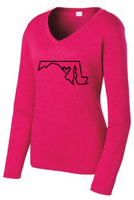 Limited Edition Maryland Love Woman's Long Sleeve