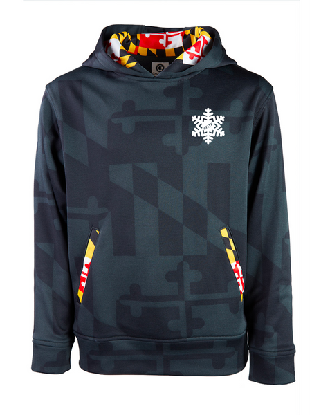 Maryland Flag FITF Youth Hoody