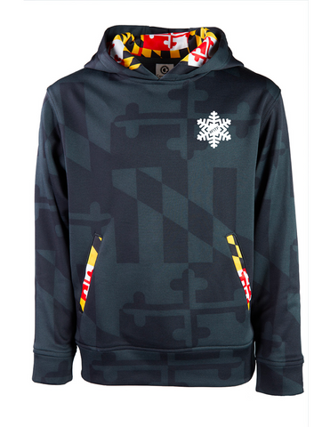 Maryland Flag Youth Hoody