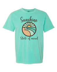 Sunshine State of Mind Comfort Colors Unisex Tee