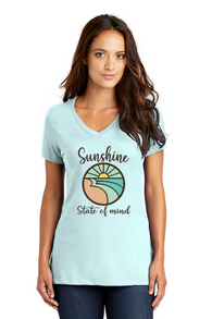Sunshine State of Mind Ladies V-Neck