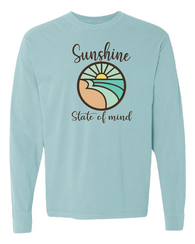 Sunshine State of Mind Comfort Colors Unisex Long Sleeve