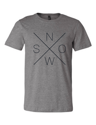 Adult Snow Tee Shirt