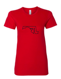 Maryland Love Ladies Tee