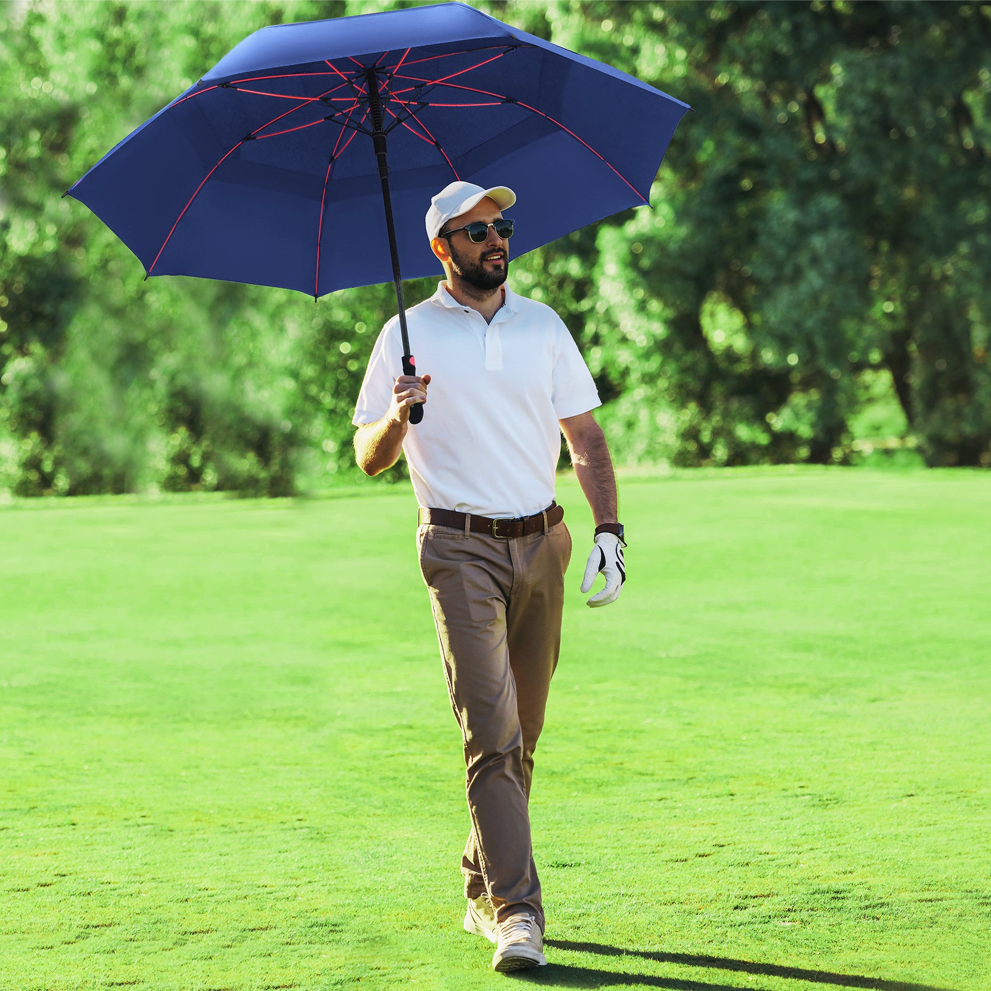 Golf No Matter the Weather with the Repel Golf Umbrella