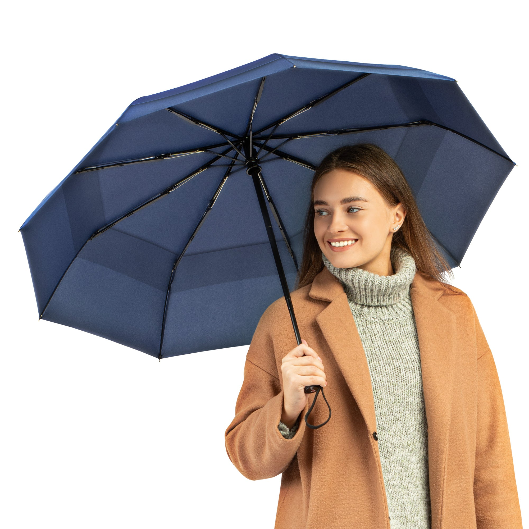 Travel Umbrella - Navy Blue