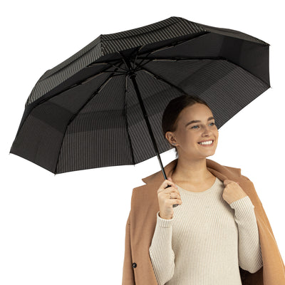 Travel Umbrella - Pin Stripe