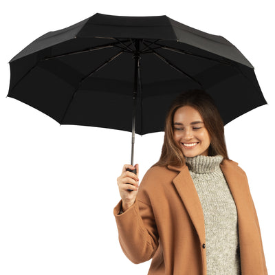 Windproof Travel Umbrella - Compact, Durable, Automatic