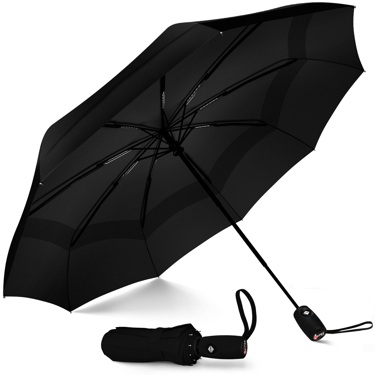 Travel Umbrella - Black