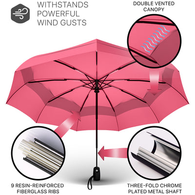 Travel Umbrella - Pink