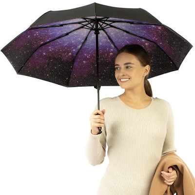 Travel Umbrella - Starry Night