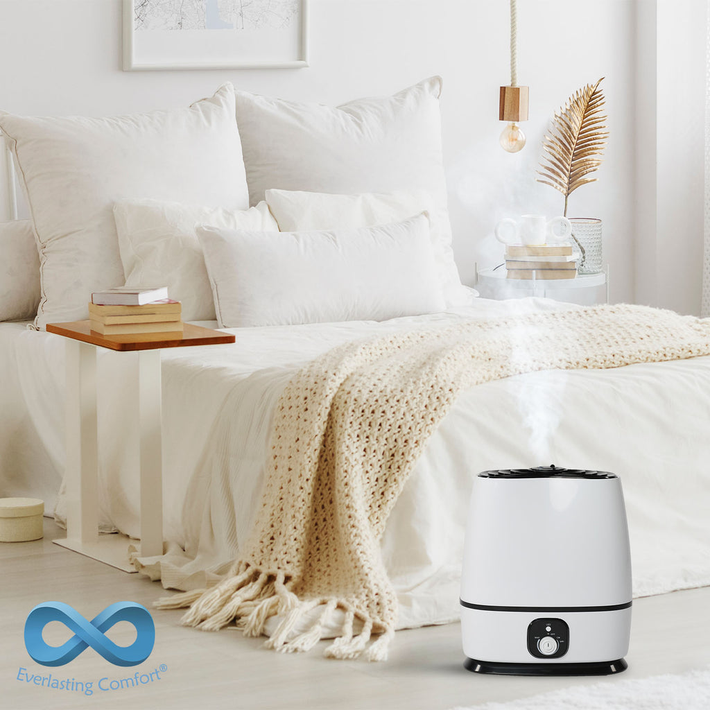 humidifier in the bedroom