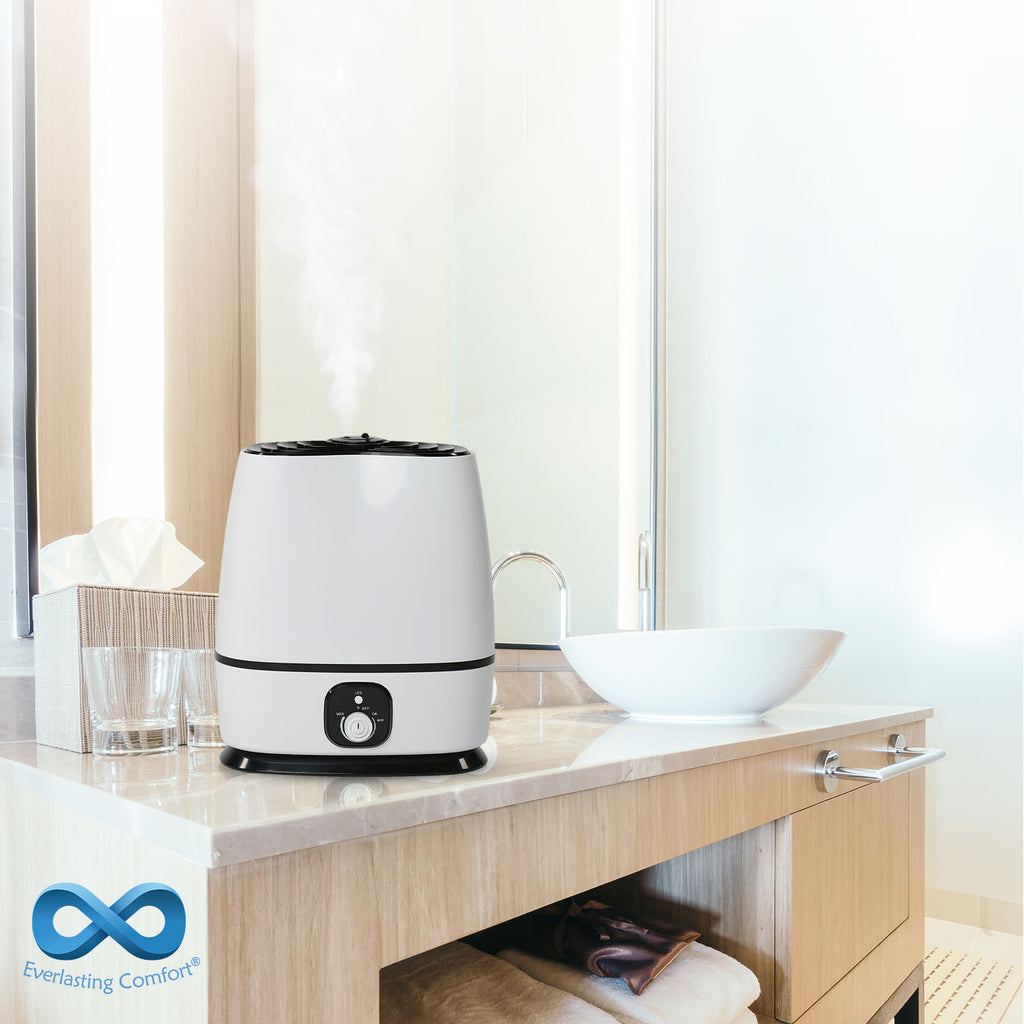 humidifier in the bathroom
