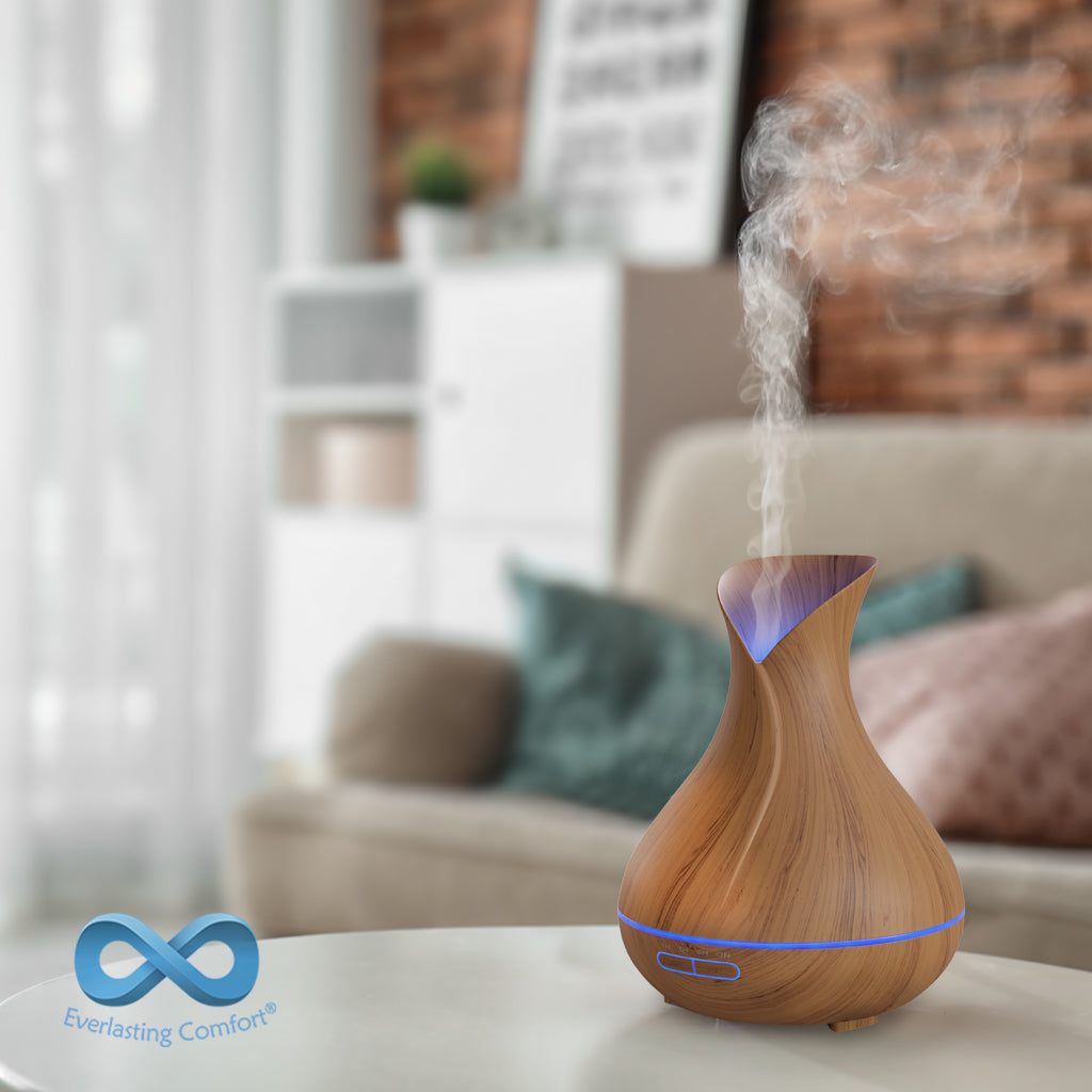 oil diffuser works in the living room