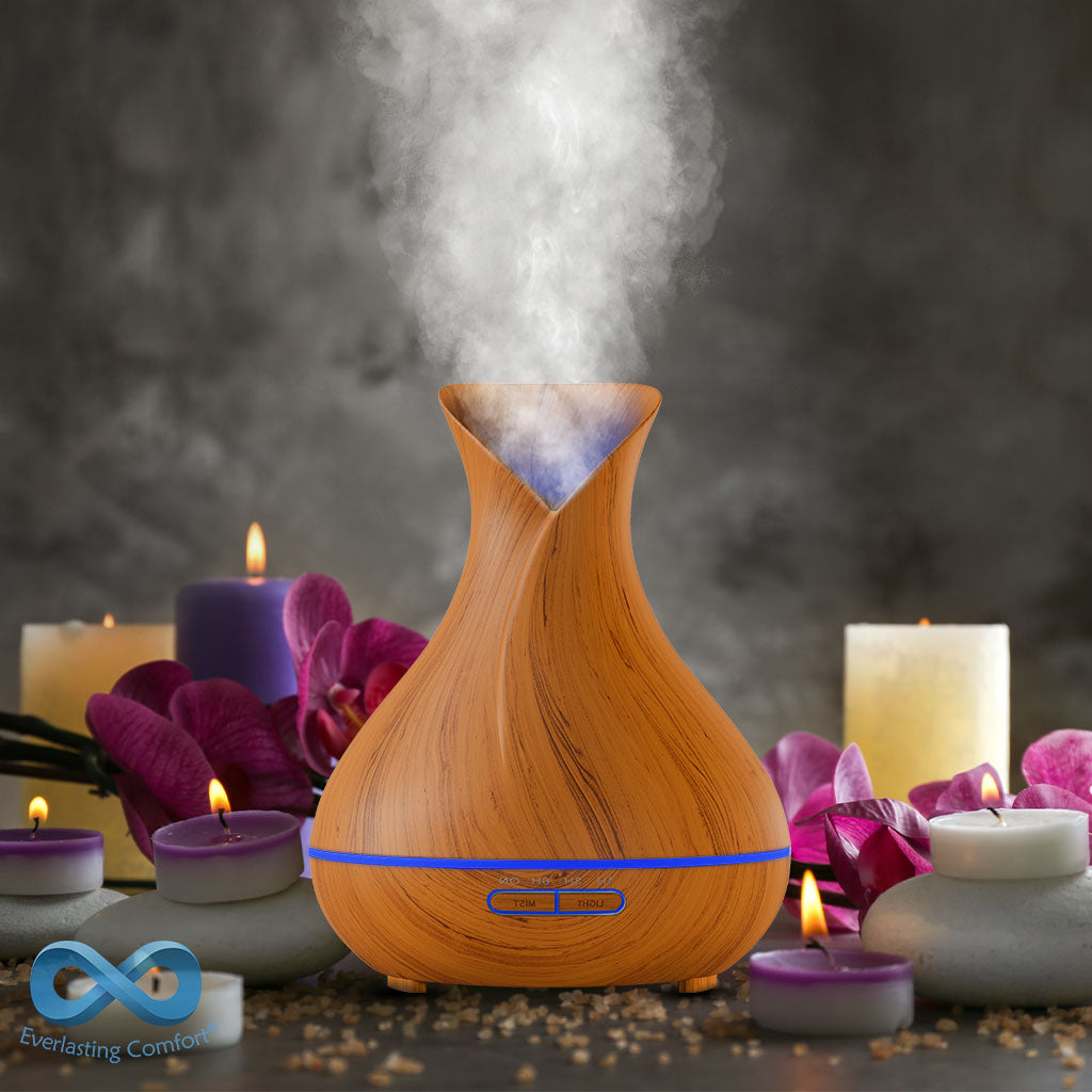 oil diffuser on the table