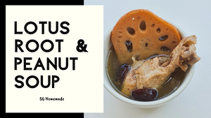 Lotus Root & Peanut Soup