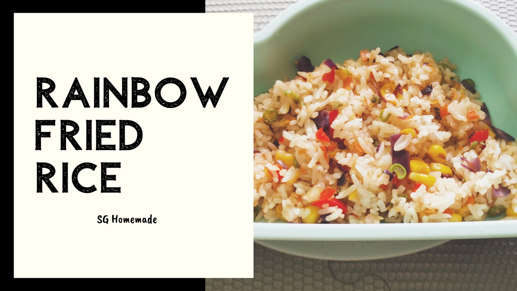 Rainbow Fried Rice