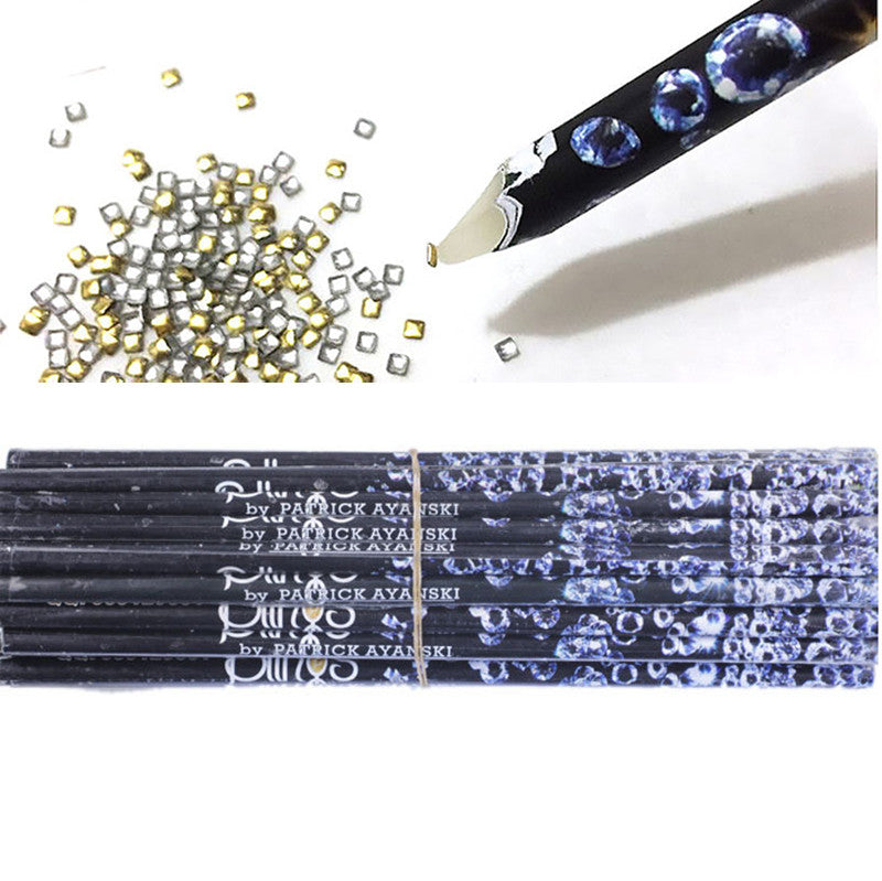 Rhinestones/Gems picking Dotting Pencil/Crafting nail Pen - PicaPicaBeauty