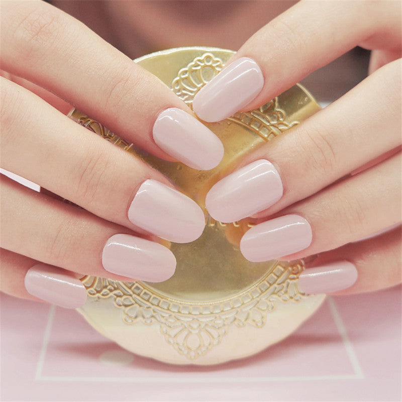 16 Tips Real Nail Polish Stickers - Blush Pink - PicaPicaBeauty