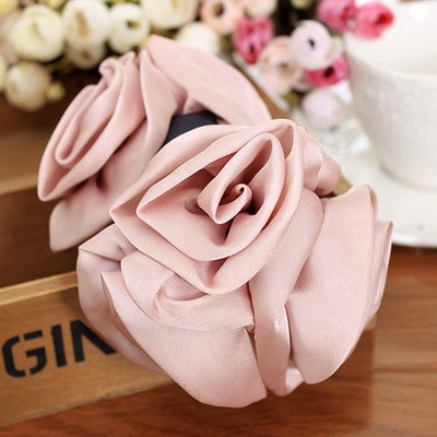 1Pc Flower Rose Claw Hair Clip - PicaPicaBeauty